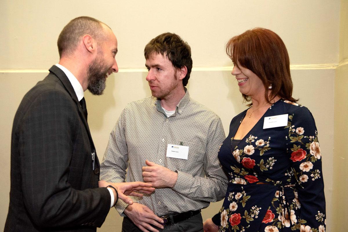 Mr Ciaran Bulman, Mr Stephen Lyons, Ms Elizebeth Lyons.