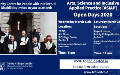 TCPID 2020 Open Day for Students with Intellectual Disabilities.
