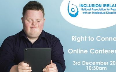 Our Right to Connect Conference: People with a disability in Ireland sharing stories about using technology to stay connected.